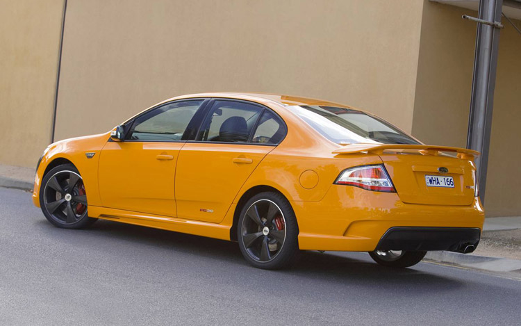 2008 ford fpv falcon first drive motor trend. Black Bedroom Furniture Sets. Home Design Ideas