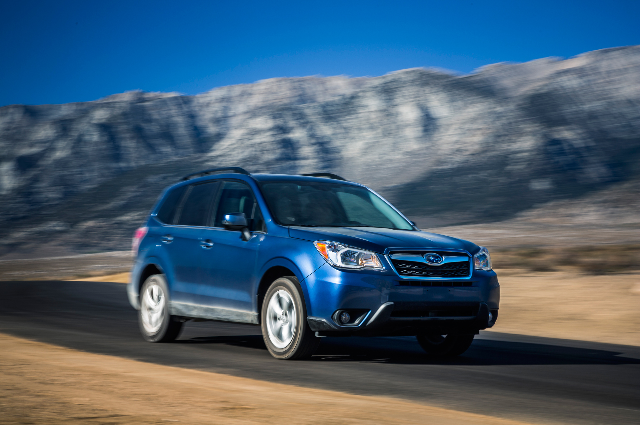 2014 Motor Trend SUV of the Year Winner: Subaru Forester