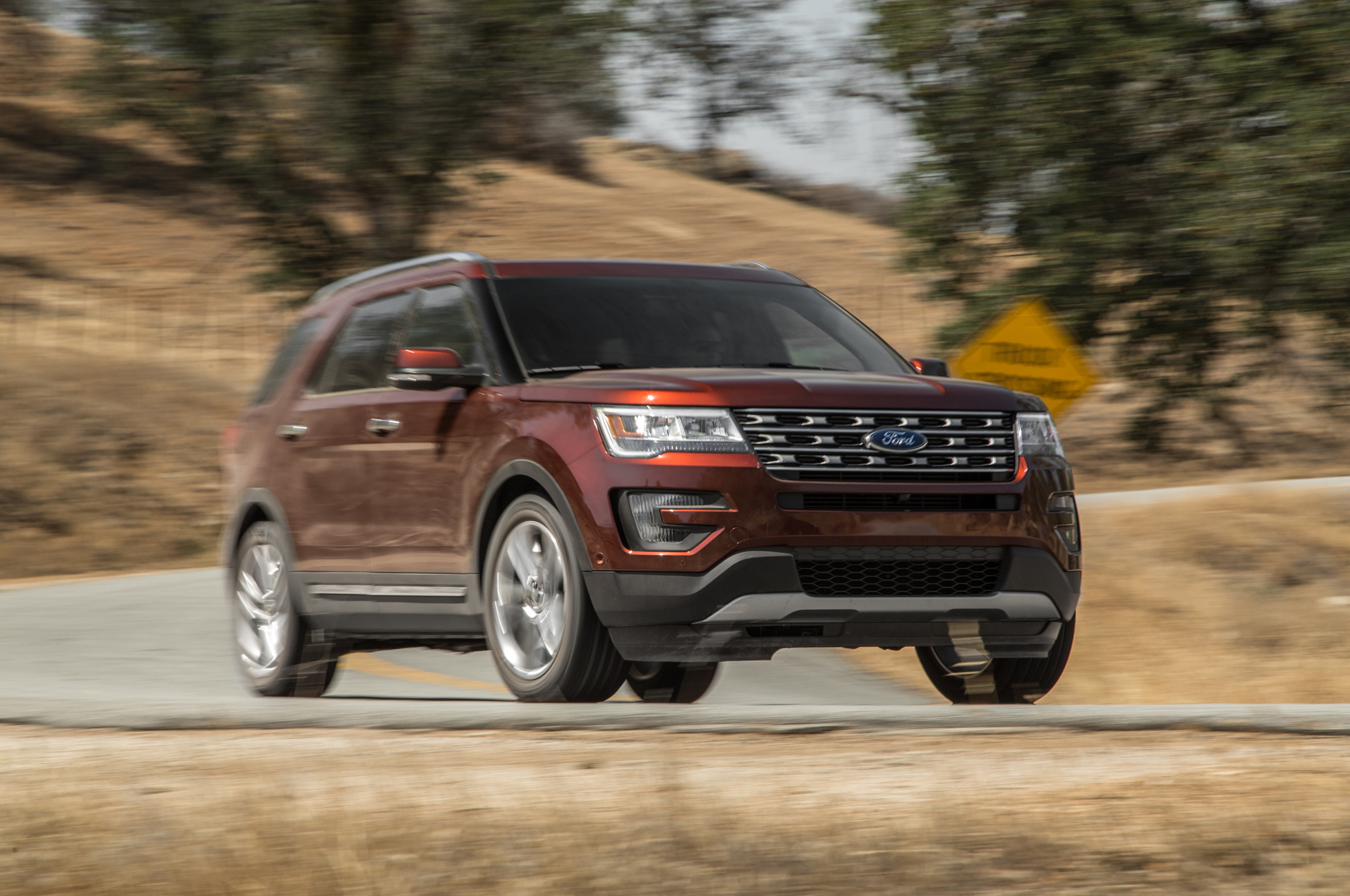 Ford Explorer Ecoboost >> 2016 Ford Explorer 2 3l Ecoboost Awd Review First Test
