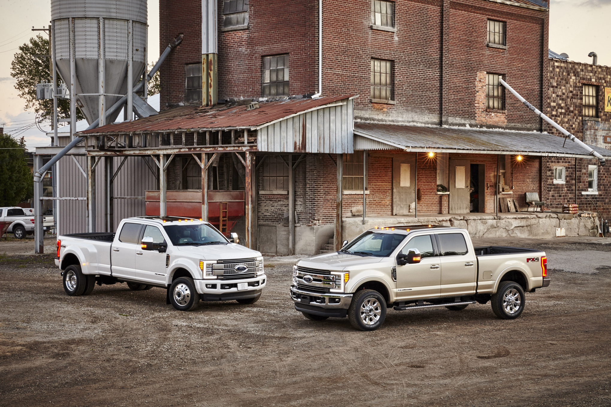 Go Behind The Scenes Of The 2017 Ford F Series Super Duty Frame Stunt