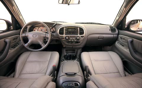 Open Road Acura >> 2001 Toyota Sequoia - Road Test Review - Truck Trend
