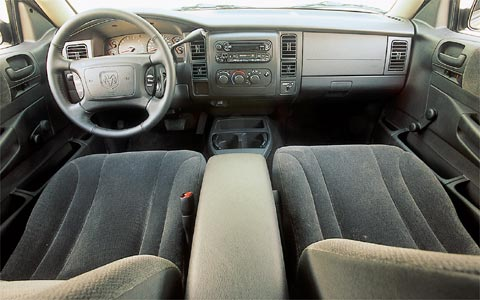 Fun Z Dodge Dakota Rt Front Interior View on 2000 Dodge Dakota Truck