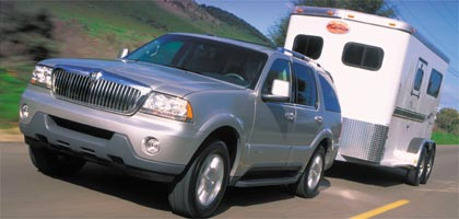 First Look: 2003 Lincoln Aviator - MotorTrend