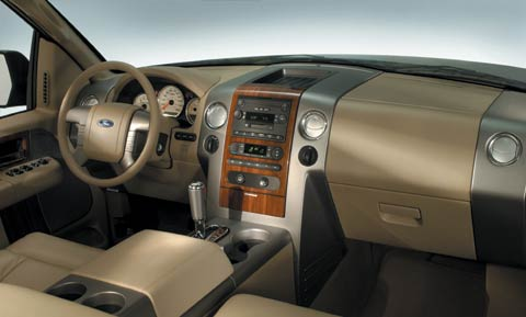 2004 ford f 150 review first look motor trend. Black Bedroom Furniture Sets. Home Design Ideas
