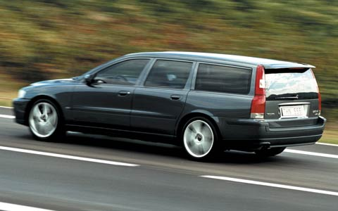 First Drive 2004 Volvo S60r V70 R Motor Trend