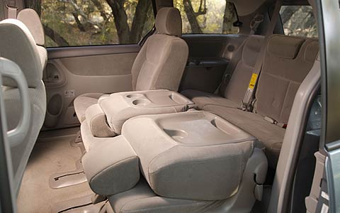first drive 2004 toyota sienna xle limited motor trend