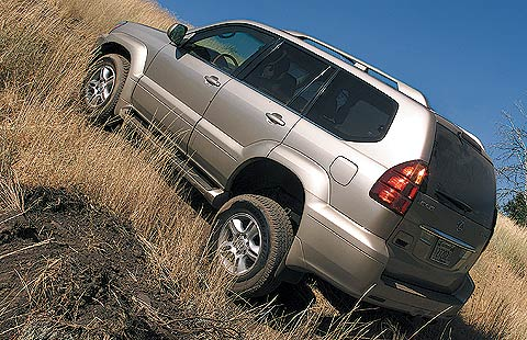 2003 Lexus GX 470 - First Drive & Road Test Review - Truck Trend