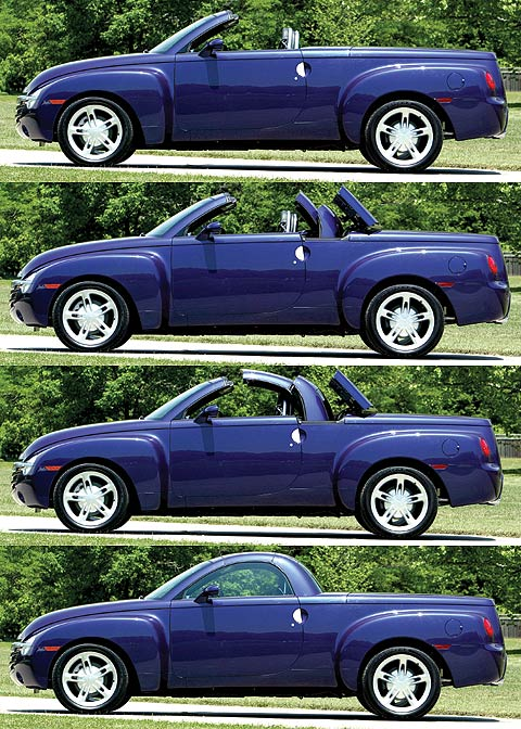 2003 Chevrolet Ssr Review Price Specs Amp Road Test