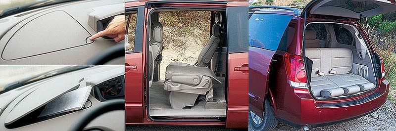 249decf535 Minivan Comparison -2004 Nissan Quest 3.5SE and 2004 Toyota Sienna ...