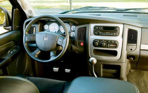 First Look 2004 Dodge Ram Srt 10 Motortrend