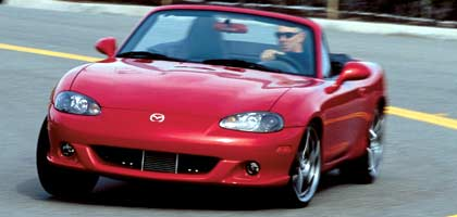 2004 mazdaspeed mx 5 miata first drive road test review motor trend. Black Bedroom Furniture Sets. Home Design Ideas