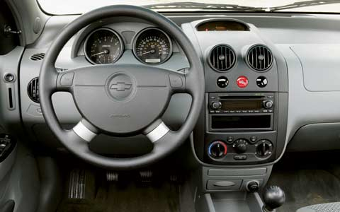 Road Test Kia Rio Vs Chevrolet Aveo Vs Scion Xa Z Chevrolet Aveo Driver Side Interior View on 2004 Chevrolet Aveo Engine