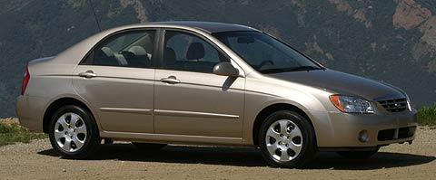First Drive 2004 Kia Spectra And 2005 Kia Spectra5 Motor Trend