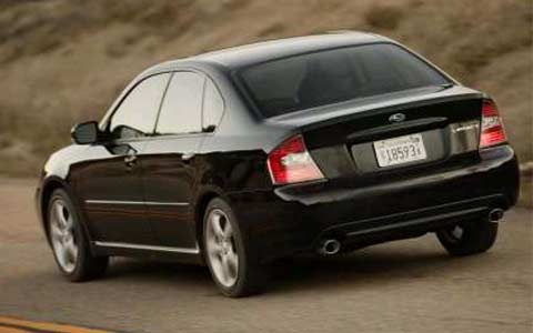 2005 Subaru Legacy Outback First Drive Motor Trend