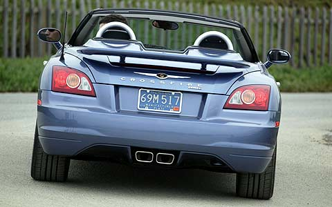 Exclusive First Drive 2005 Chrysler Crossfire Srt 6 Roadster