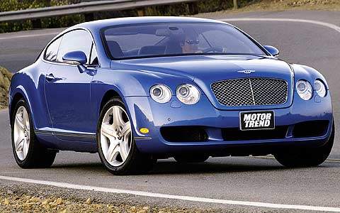 2005 bentley continental gt first test motor trend magazine. Black Bedroom Furniture Sets. Home Design Ideas