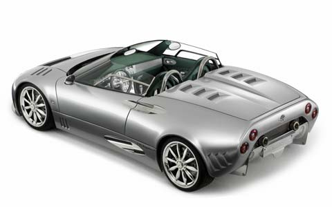 2005 Los Angeles Auto Show 2005 Spyker C8 Spyder Photo Gallery