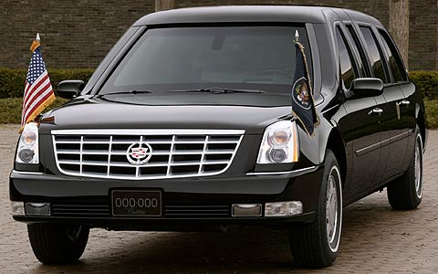 Presidential Limousine Debuts New 2006 Cadillac DTS Design - Motor Trend