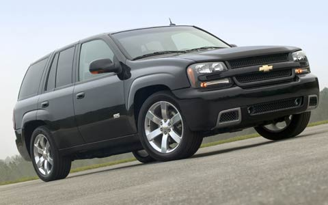 2006 chevrolet trailblazer ss photo gallery 2005 new york auto show motor trend. Black Bedroom Furniture Sets. Home Design Ideas
