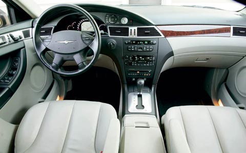 Open Road Acura >> 2005 Ford Freestyle - 2004 Chrysler Pacifica - Road Test ...