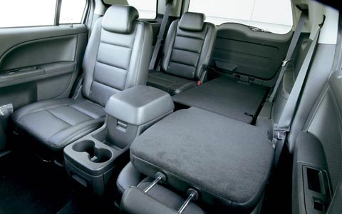 Free Paci Z Ford Freestyle Rear Interior View
