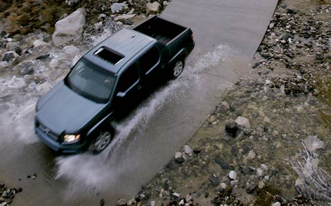 2006 Honda Ridgeline   Road Test U0026 Review   Motor Trend