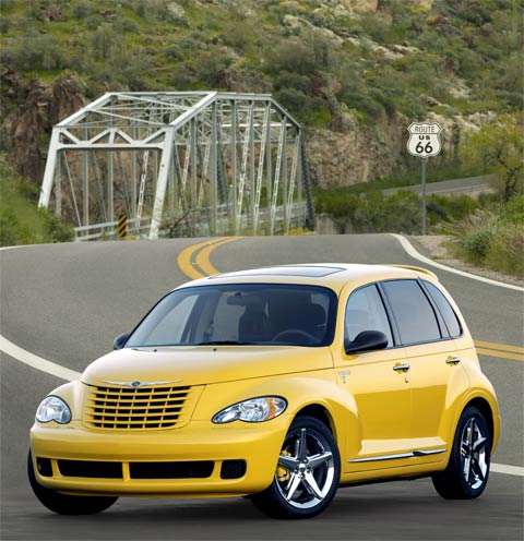 Get Your Kicks With Chrysler PT Street Cruiser Route Edition - Route 66 cruisers car show list