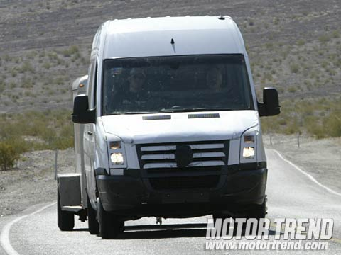 2007 dodge sprinter spied motor trend. Black Bedroom Furniture Sets. Home Design Ideas