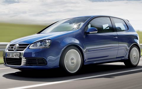 2005 Frankfurt Motor Show 2007 Volkswagen Golf R32 Photo Gallery
