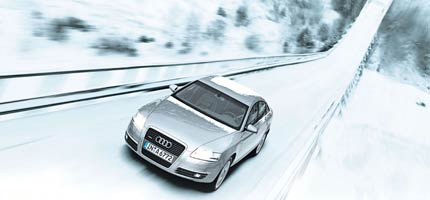 Historic Ski Jump Commercial To Celebrate Years Of Quattro - Audi car commercial