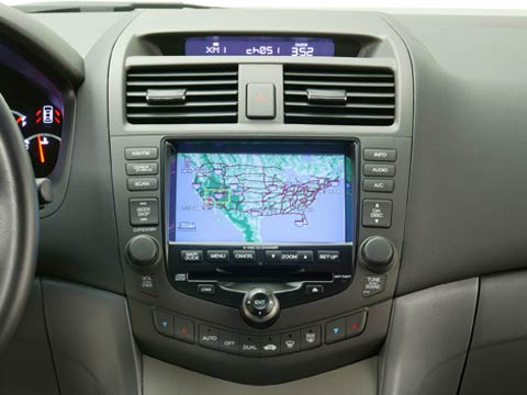 2005 honda accord coupe navigation system