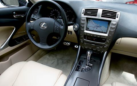 2006 lexus is350 first test motortrend. Black Bedroom Furniture Sets. Home Design Ideas