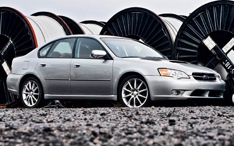 2006 subaru legacy gt review