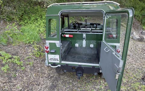 Full Metal Jackets: Four-Wheel Drives Comparison - MotorTrend on 1975 land rover series 3, 1970 land rover series 3, pick up land rover series 3, m715 land rover series 3, chassis land rover series 3, 1972 land rover series 3, usa land rover series 3, 1979 land rover series 3,