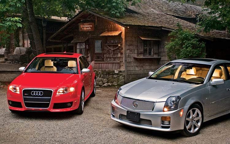 Mercedes Dealers In Ct >> 2006 Audi RS 4 vs 2006 Cadillac CTS-v - Head to Head ...