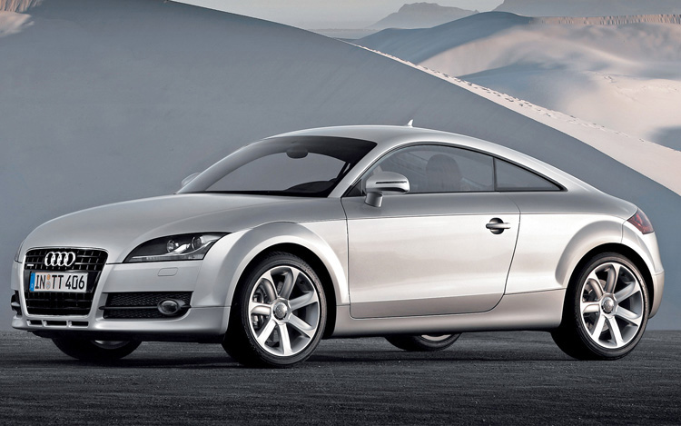 2008 audi tt coupe first drive review motor trend. Black Bedroom Furniture Sets. Home Design Ideas