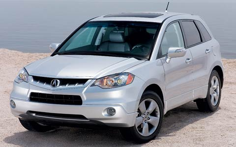 Comparison Acura RDX Vs Mazda CX Grand Touring Vs - Acura 2007 rdx