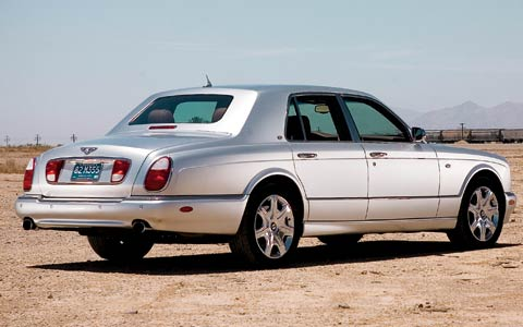 head to head: 2005 bentley arnage r vs. 2006 rolls-royce phantom