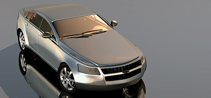 News L Chevrolet Imapala Rendering Front View on 2006 Chevy Impala 3 5 Engine