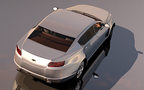 Chevy S Secret Impala Gm Starts Work On Rwd Sedan For 2010 Motortrend