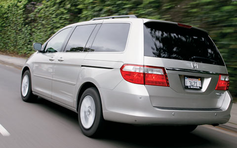2005 honda odyssey touring long term road test verdict review motor trend. Black Bedroom Furniture Sets. Home Design Ideas
