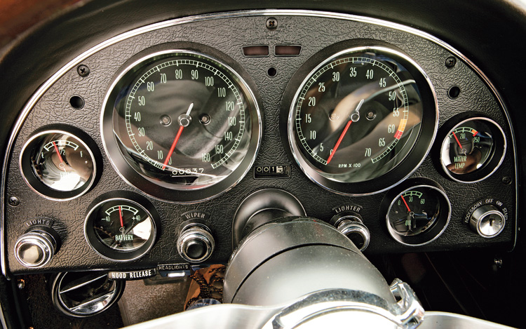 C Z Chevrolet Corvette Sting Ray Gauge Cluster
