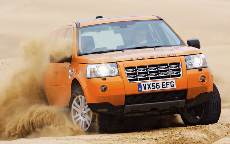 First Drive 2008 Land Rover Lr2 Se Motor Trend