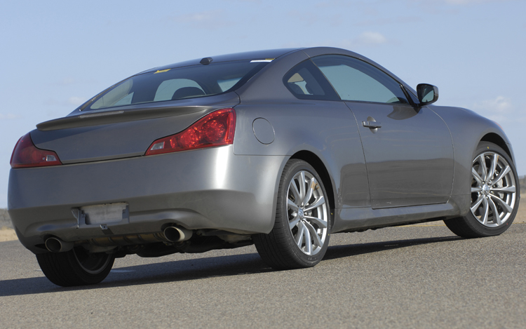 How much horsepower does a infiniti g37 have