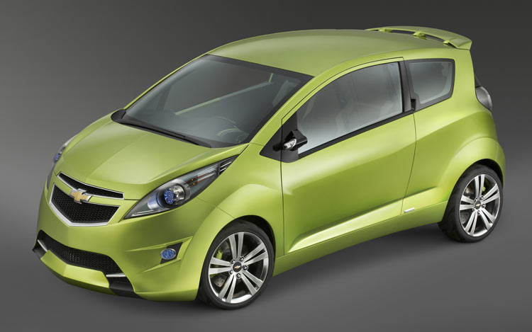 2007 New York Auto Show Chevrolet Searching For Minicar Cool With