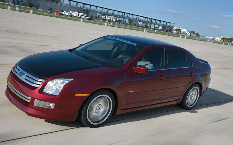 2007 Ford Fusion Reviews >> 2007 Steeda Ford Fusion Road Test Motor Trend