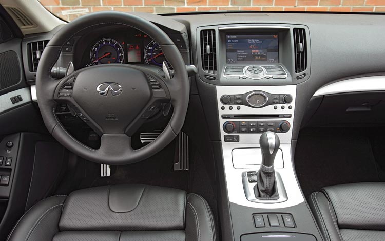 2008 infiniti g37 coupe interior