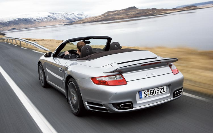 Newcomers 2008 Porsche 911 Turbo Cabriolet Motor Trend