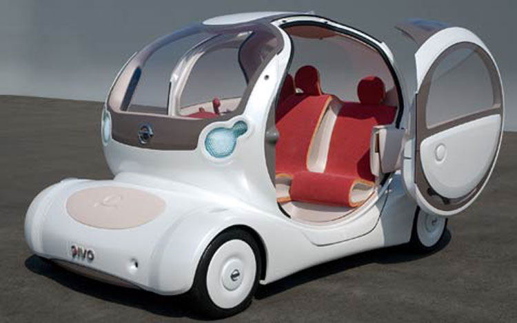 Electric Octopus Nissans Pivo 2 Concept To Debut At Tokyo Show