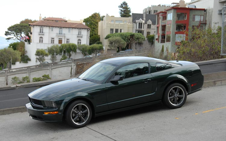2008 ford mustang bullitt photo gallery motor trend. Black Bedroom Furniture Sets. Home Design Ideas